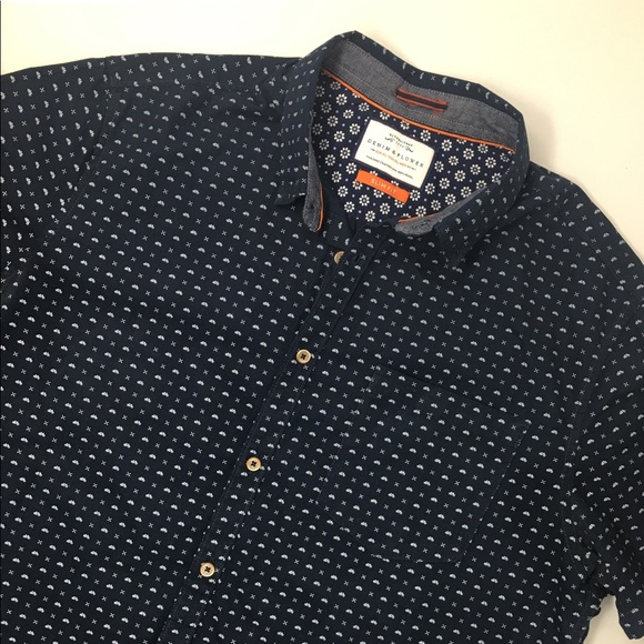 78bef887122 Denim   Flower Other - Denim   Flower Short Sleeve Shirt